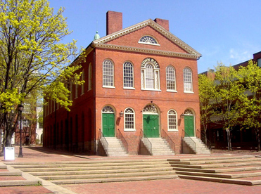 Salem Old Town Hall Front
